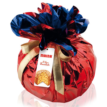 MAINA RED FOIL PANETTONE