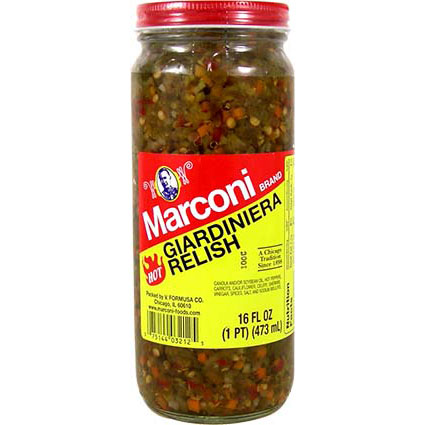 MARCONI HOT GIARDINIERA RELISH