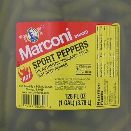 MARCONI SPORT PEPPERS - BULK