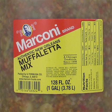 MARCONI MUFFALETTA - BULK