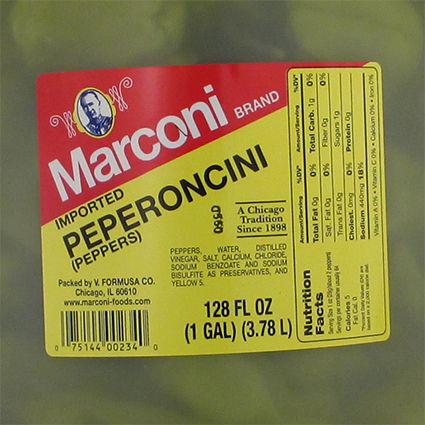 MARCONI GREEK PEPPEROCINI - BULK