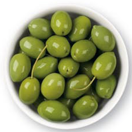 CINQUINA GREEN COLOSSAL OLIVES - BULK 1