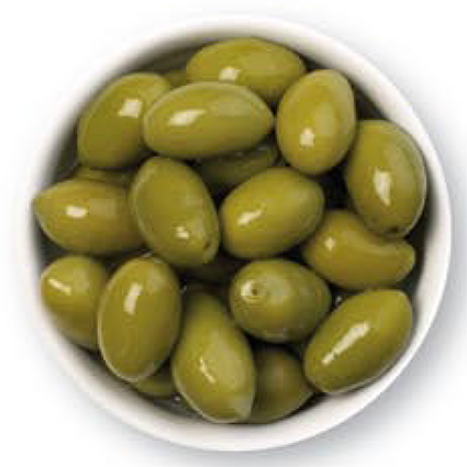CINQUINA GREEN CERIGNOLA OLIVES - BULK