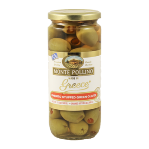 monte pollino green pimento stuffed olives 15313