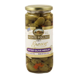 monte pollino pitted medley olives 15314