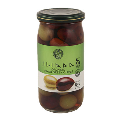 ILIADA ORGANIC GREEK MIXED OLIVES