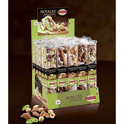 QUARANTA ASSORTED CLASSIC NOUGAT BARS