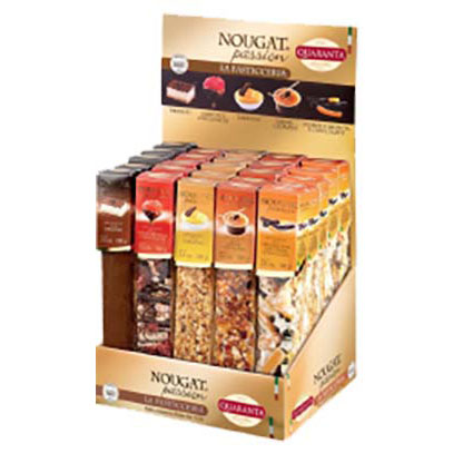 QUARANTA ASSORTED PASSION NOUGAT BARS