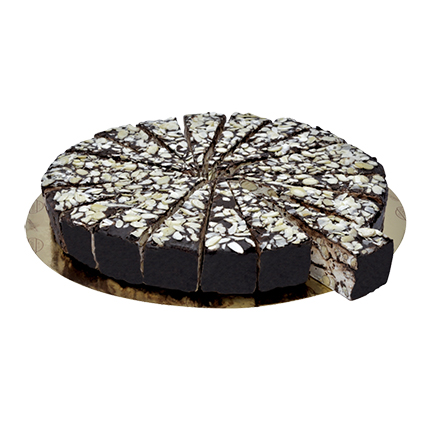 QUARANTA CHOCOLATE ALMOND SOFT NOUGAT CAKE