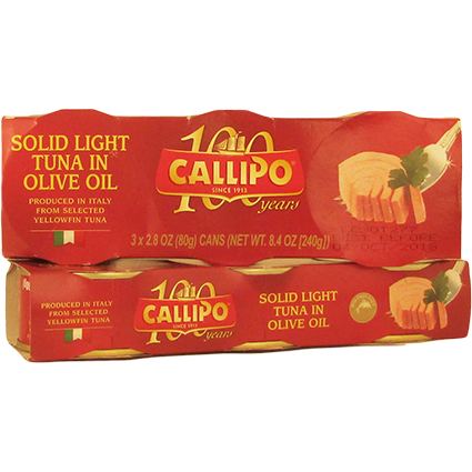 CALLIPO TUNA IN OLIVE OIL (TIN)