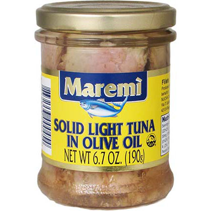 MAREMI SOLID LIGHT TUNA IN OIL