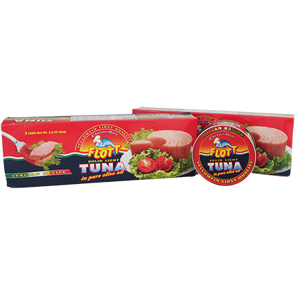 FLOTT TUNA IN OLIVE OIL 3 PACK