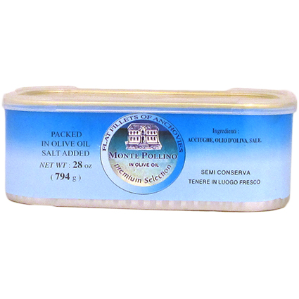 MONTE POLLINO ANCHOVIES IN OIL