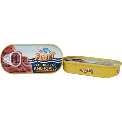FLOTT ANCHOVY FILLETS IN OLIVE OIL (2OZ)