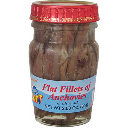 FLOTT ANCHOVY FILLETS IN OLIVE OIL (8OZ)