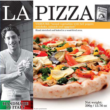 LA PIZZA VEGETARIAN