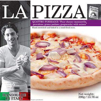 LA PIZZA 4 CHEESE 1