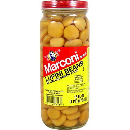 MARCONI LUPINI BEANS