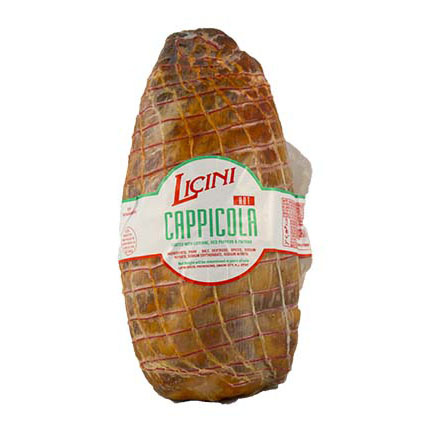 LICINI HOT CAPPICOLA (COPPA)