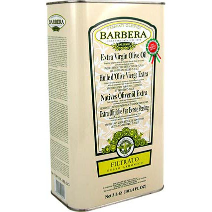 BARBERA FILTERED EXTRA VIRGIN OLIVE OIL - BULK
