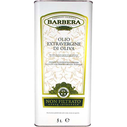 BARBERA UNFILTERED EXTRA VIRGIN OLIVE OIL - BULK