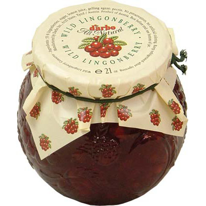 DARBO WILD LINGONBERRY COMPOTE
