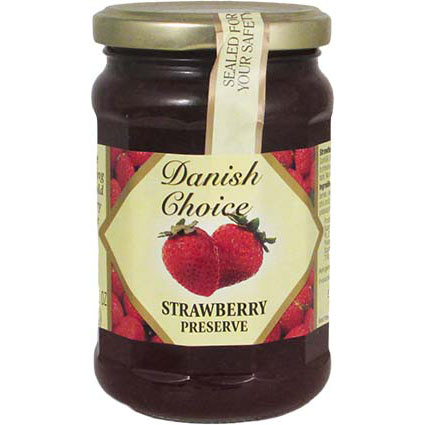 DANISH CHOICE STRAWBERRY JAM