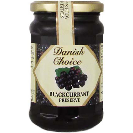 DANISH CHOICE BLACK CURRANT JAM