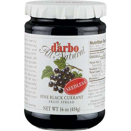 DARBO BLACK CURRANT JAM