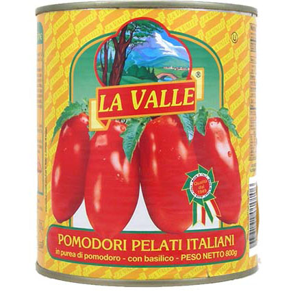 LA VALLE WHOLE TOMATO 28OZ