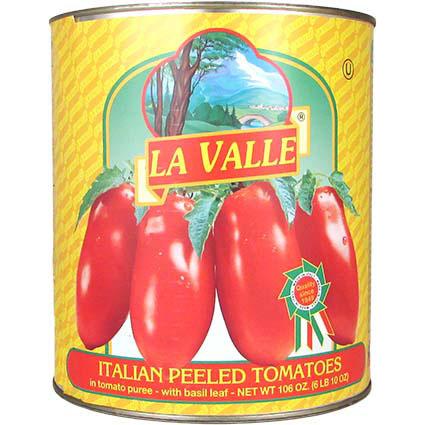 LA VALLE WHOLE TOMATO #10