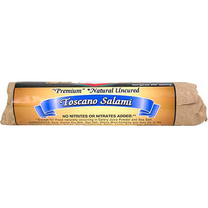 MILAN TOSCANO SALAMI 8OZ