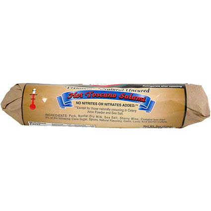 MILAN HOT TOSCANO SALAMI 8OZ
