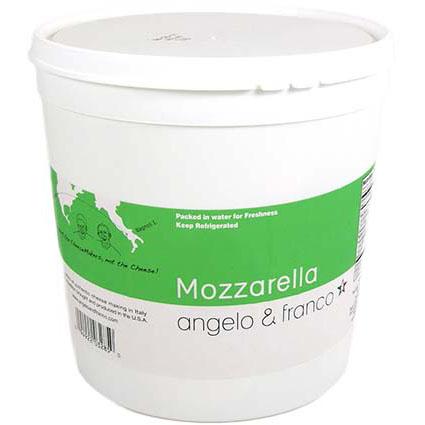 ANGELO & FRANCO MOZZARELLA OVALINE - BULK