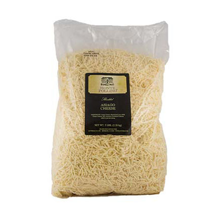 MONTE POLLINO  SHREDDED ASIAGO - BULK
