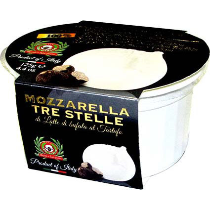 TRE STELLE BUFFALO MOZZARELLA WITH TRUFFLE