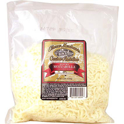 LOW MOISTURE WHOLE MILK SHREDDED MOZZARELLA
