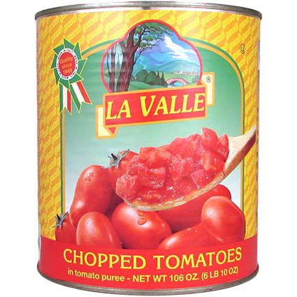 LA VALLE TOMATOES - CHOPPED #10 1