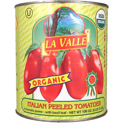 LA VALLE TOMATOES - ORGANIC #10 1