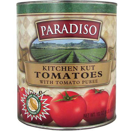 PARADISO PLUM TOMATOES (KITCHEN CUT STRIPS)