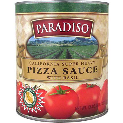 PARADISO EXTRA HEAVY PIZZA SAUCE WITH BASIL