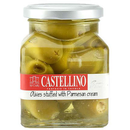 CASTELLINO PARMESAN STUFFED OLIVES