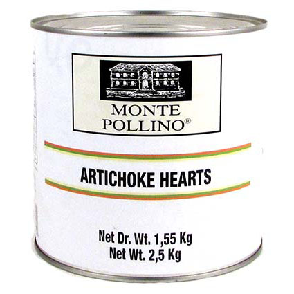 MONTE POLLINO WHOLE ARTICHOKE HEARTS