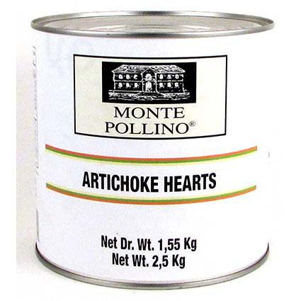 MONTE POLLINO ARTICHOKE 1/4 IN BRINE