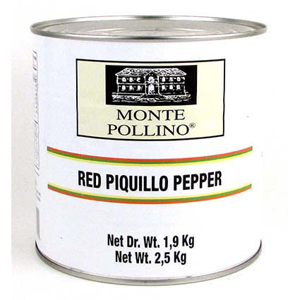 MONTE POLLINO ROASTED PIQUILLO PEPPERS