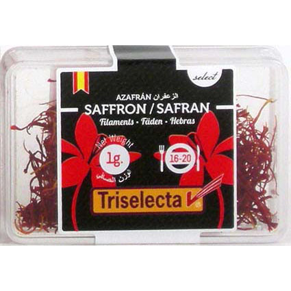 TRI SELECTA SAFFERON FILAMENTS BOX 1G