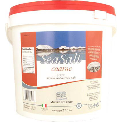 MONTE POLLINO COARSE SEA SALT - BULK