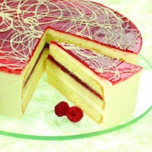 BINDI LIMONCELLO RASPBERRY CAKE