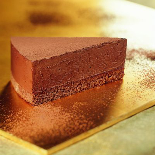 bindi chocolate mousse cake